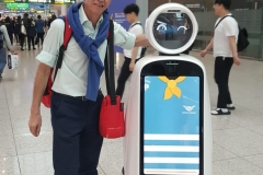seoul4_KOBUS and Helpful Robot.Seoul Airport..20191216