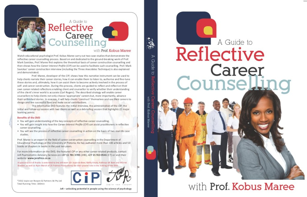 Reflective career counselling - DVD cover